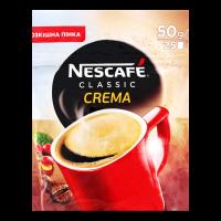 Кава Nescafe Classic Crema розчинна 50г х20