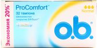 Тампони гігієнічні O.b. ProComfort Normal, 32 шт.