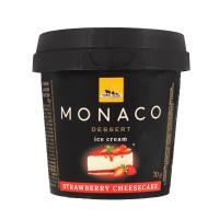 Морозиво Три Ведмеді Monaco Полуничний чізкейк 70г