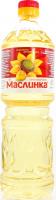 Олія соняшникова Маслинка рафінована 870мл