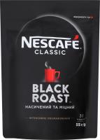 Кава Nescafe Classic Black Roast розчинна 55г х25