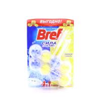 Засіб Bref WC чистячий для унітазу Лимонна свіжість 2*51г х6