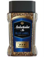 Кава Ambassador Blue Label натуральна розчинна с/б 190г