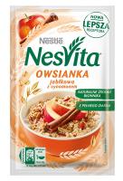 Каша Nestle Nesvita вівсяна з молоком та яблуком 46г