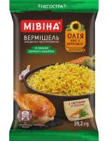 Вермішель Мівіна з курячого бульйону овочі та зеленню 59,2г