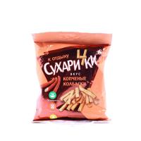 Сухарики Сухарчики копчені ковбаски 50г х20