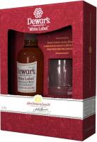 Віскі Dewar`s White Label від 3 років витримки 40% 0,7л +стакан в коробці
