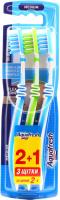 Зубна щітка Aquafresh In-Between Clean 2+1 Medium, 3 шт.
