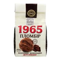 Морозиво Лімо 1965 Пломбір шоколадний 600г
