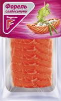 Форель Flagman філе скибочки без шкіри слабосолена 100г