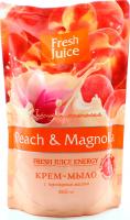Мило Fresh Juice рідке із гліцерином персик д/п 460мл х6