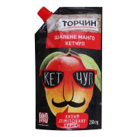 Кетчуп Торчин Шалене манго 250г