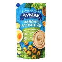 Майонез Чумак Апетитний 50% д/п 550г