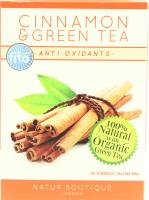 Чай Fito Organic Green tea Cinnamon 20*2г