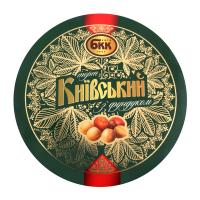 Торт БКК Київський з фундуком 0,45кг