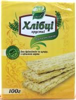 Хлібці Galleti Пшенично-вівсяні б/дріжджів та цукру 100г