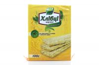 Хлібці Galleti Пшенично-вівсяні б/дріжджів та цукру 100г х6