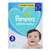 Підгузники Pampers Active Baby 3 6-10кг 82шт х2