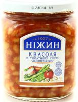 Квасоля Ніжин у томатному соусі 450г