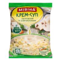 Крем-суп Мівіна з вермішеллю та шампіньйонами 67г х48