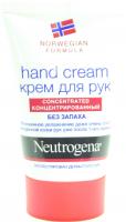 Крем для рук Neutrogena Norwegian Formula Без запаху, 50 мл