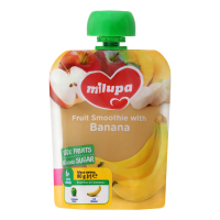 Пюре Nutricia Milupa фруктове Яблуко і банан 80г