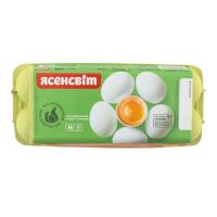 Яйця курячі Ясенсвіт 1-ї категорії 10шт.