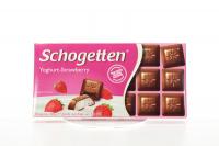 Шоколад Schogetten Yoghurt-Strawberry 100г х12