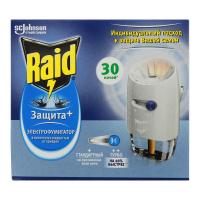 Електрофумігатор Raid Захист+ 30 ночей