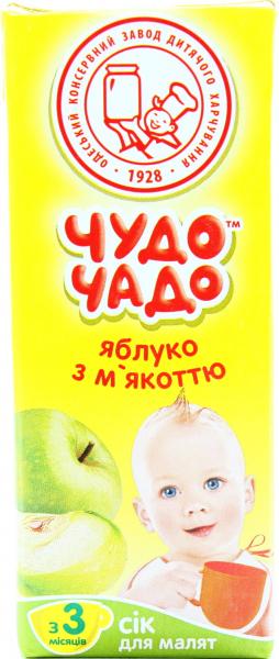Сік ОКЗДХ Чудо чадо яблуко з м`якоттю 0 7f7667a95dca6