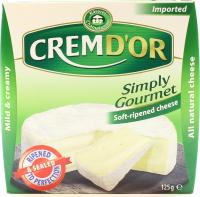 Сир Kaserei Champignon Cremd`or Simply Gourmet 60% 125г