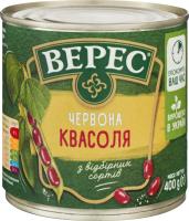 Квасоля Верес червона ж/б 400г х12