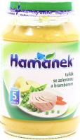 Пюре Hame Hamanek тунець з овочами та картоплею 190г х6