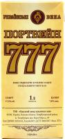 Вино Українські вина Портвейн 777 біле кріплене 1л B&B