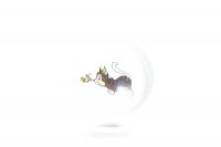 Тарілочка Trixie керамічна для тварин Арт.4007 х6