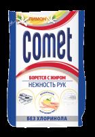 """Засіб чистячий Comet Ніжність рук Без Хлоринолу """"Лимон"""", 350 г"""