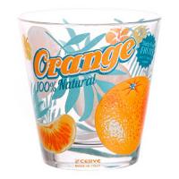 Склянка Cerve 250мл низька Orange R04294