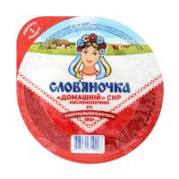 Сир Слов`яночка кисломолочний 9% 180г х8