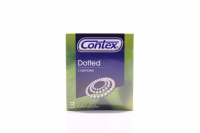 Презервативи Contex Dotted з крапками 3шт х24
