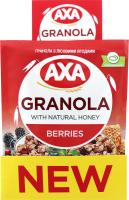 Гранола AXA з лісовими ягодами 40г