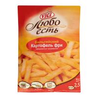 Картопля фрі Vici 9/9мм 2500г