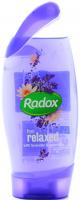 Гель для душу Radox Feel Relaxed Лаванда і Водяна Лілія, 250 мл