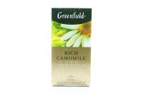 Чай Greenfield Rich Camomile 25пак*1,5г х10
