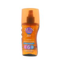 Масло Еколла Sun time активатор засмаги SPF 6  150мл х6