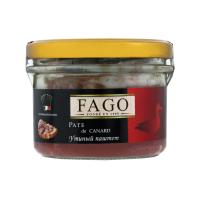 Паштет Fago качиний с/б 180г