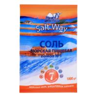 Сіль морська Salt Way натуральна 1000г