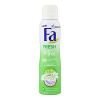 Дезодорант Fa Fresh&Free аерозоль Lime&Coconut 150мл х6
