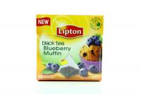Чай Lipton Black Tea Blueberry Muffin 20пак.*1,8г х12