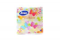 Серветки паперові сервірувальні Zewa Exclusive 33*33см, 20 шт.