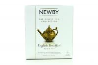 Чай Newby English Breakfast чорний байховий 15пак 37,5г х4